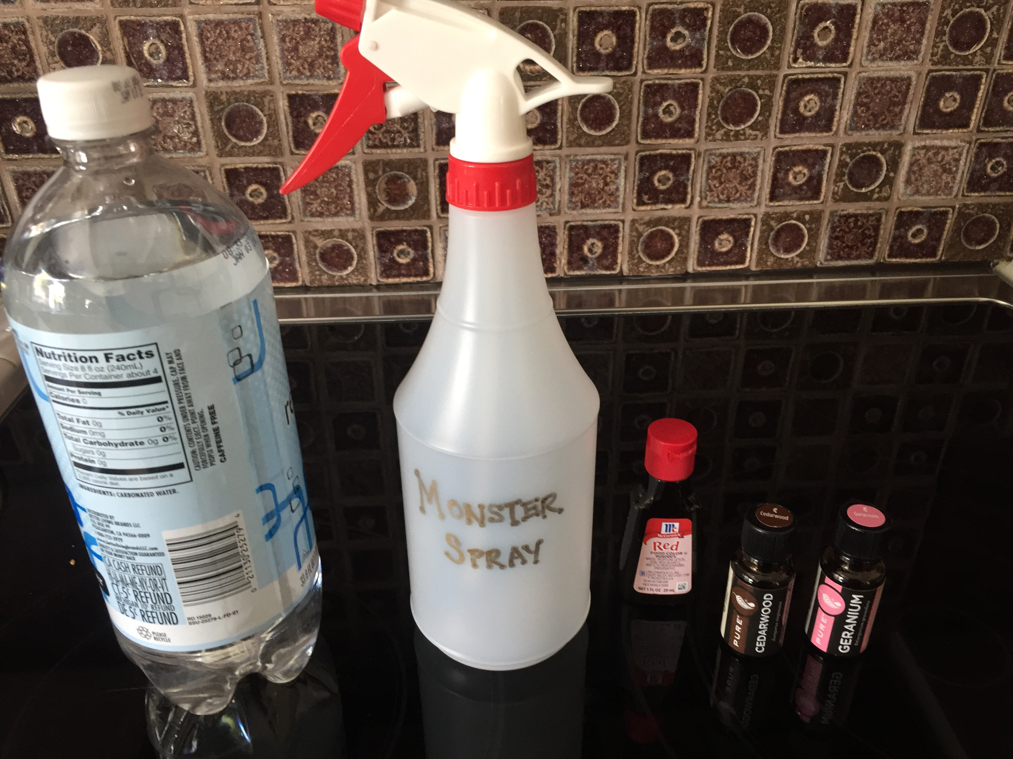 My PWD and Me - Miss Millie's Musings - Funny Dog - Monster Spray